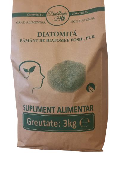 Beneficiile pentru sănătatea pământului diatomee