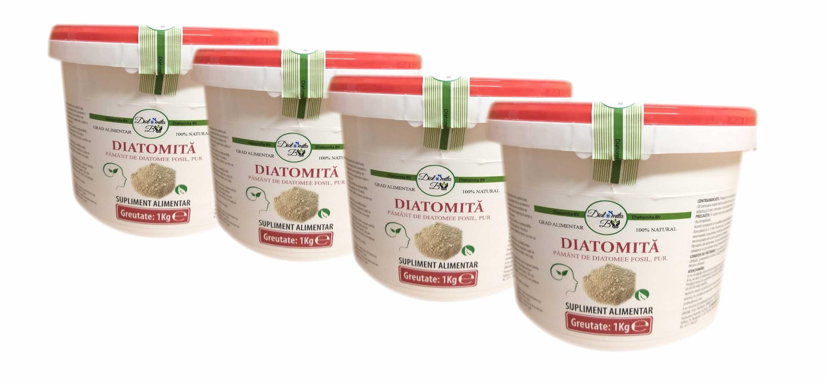 pământul de diatomee va ajuta să pierdeți în greutate