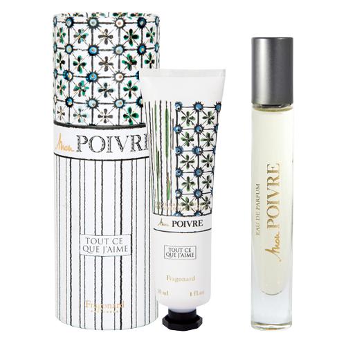 Set Mon Poivre Contine: Apă de Parfum 7,5 ml + Cremă pentru mâini 30 ml