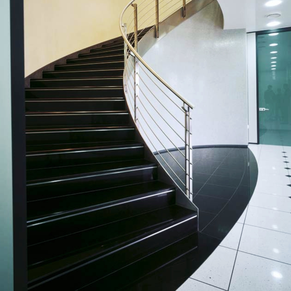 Trepte Granit Exterior Negru Absolut 100 33 2cm