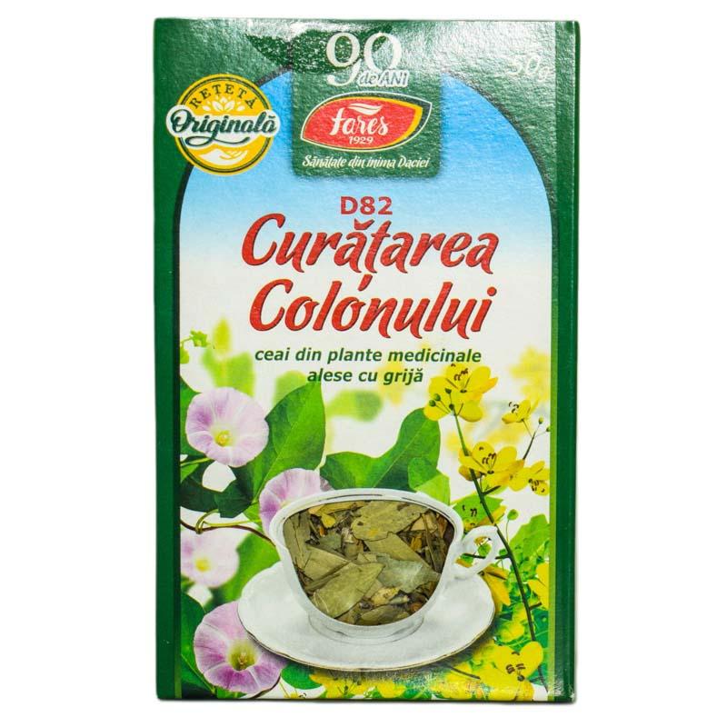ceai curatarea colonului fares