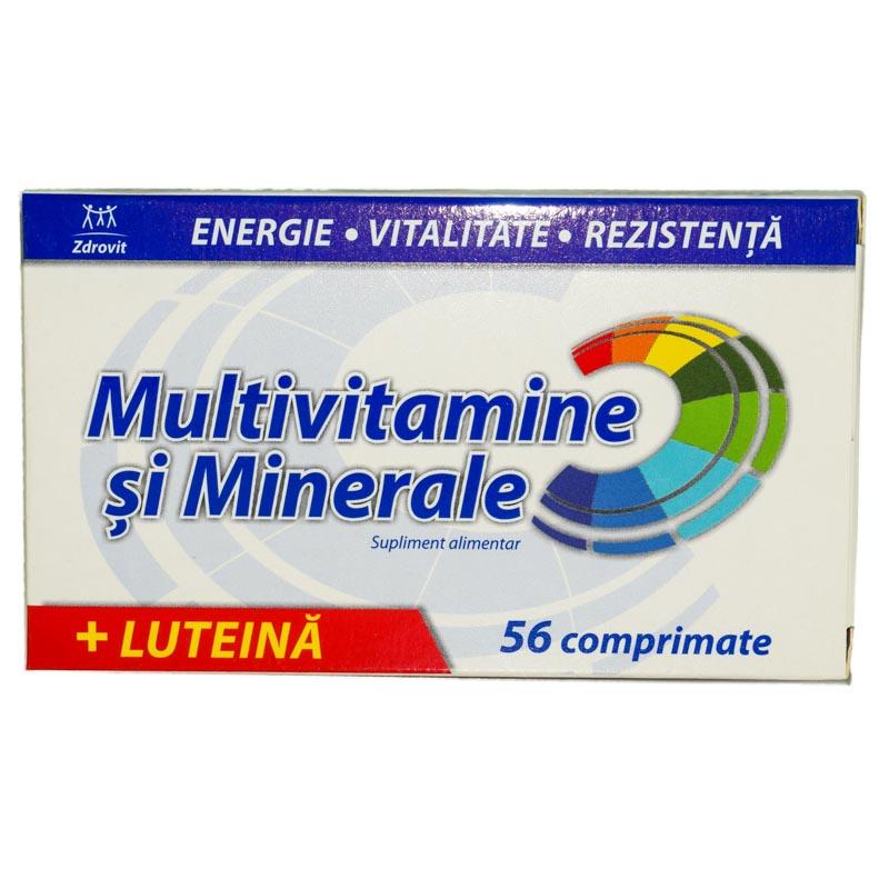 zdrovit multivitamine si minerale