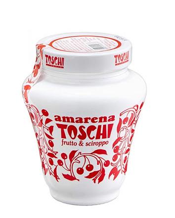 Amarene ( Cirese amare ) Anforetta Toschi 510g
