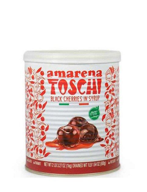 Amarene ( cirese amare ) Toschi 1000 g (cal 18/20)