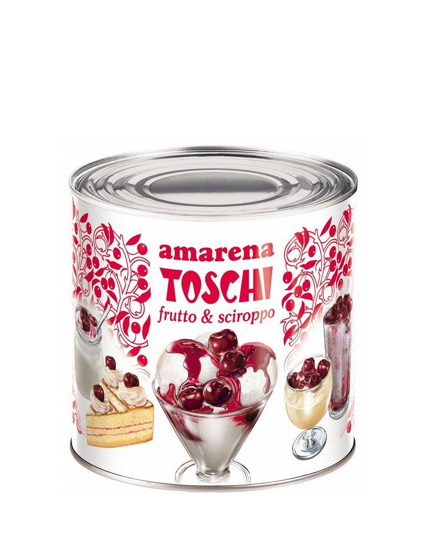 Amarene ( cirese amare ) Variegato Toschi 3000 g