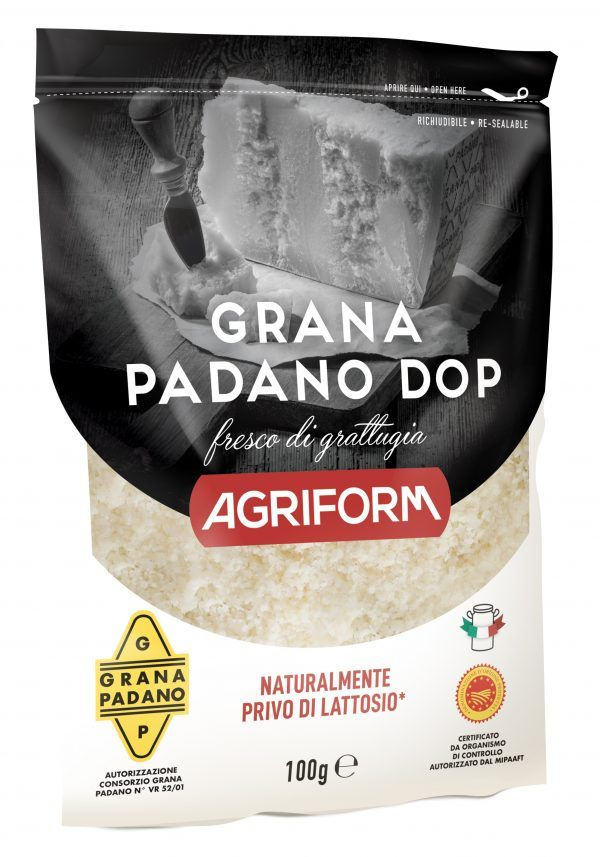 Branza Grana Padano DOP rasa Agriform 100g