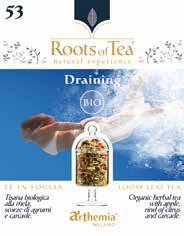 Ceai de frunze Draining Bio 40 g
