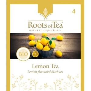 Ceai Negru cu Lamaie Arthemia Bio (20 plicuri/cutie)