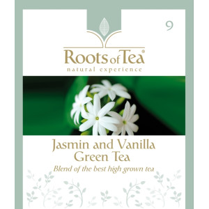Ceai Verde cu Iasomie si Vanilie Arthemia (20 plicuri/cutie)