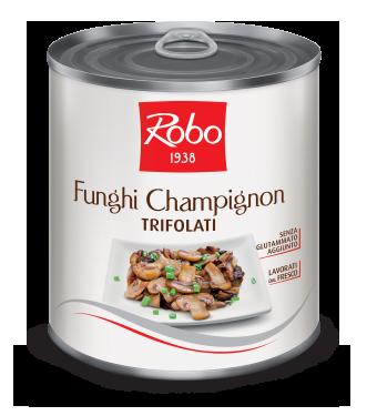 Ciuperci champignon sautee in ulei Robo 780 g