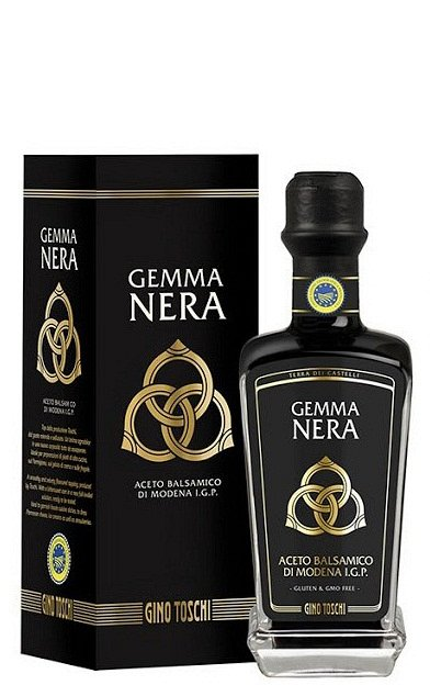Crema de otet balsamic Gemma Nera de Modena IGP TOSCHI la 250ml sticla