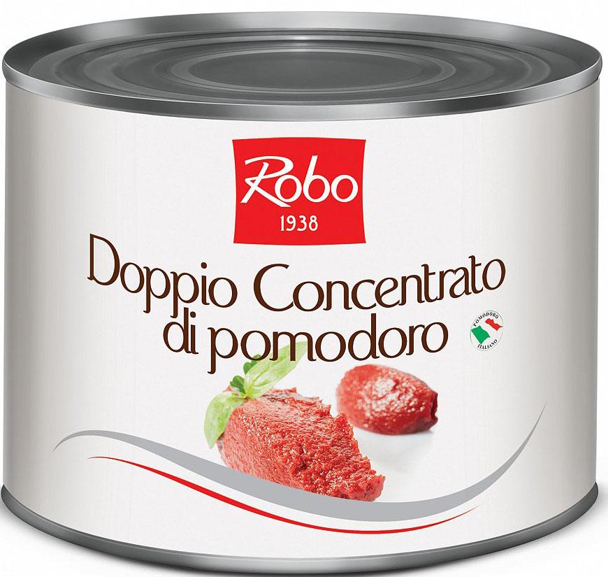 Dublu concentrat de pasta de rosii ( 2150g net/conserva)