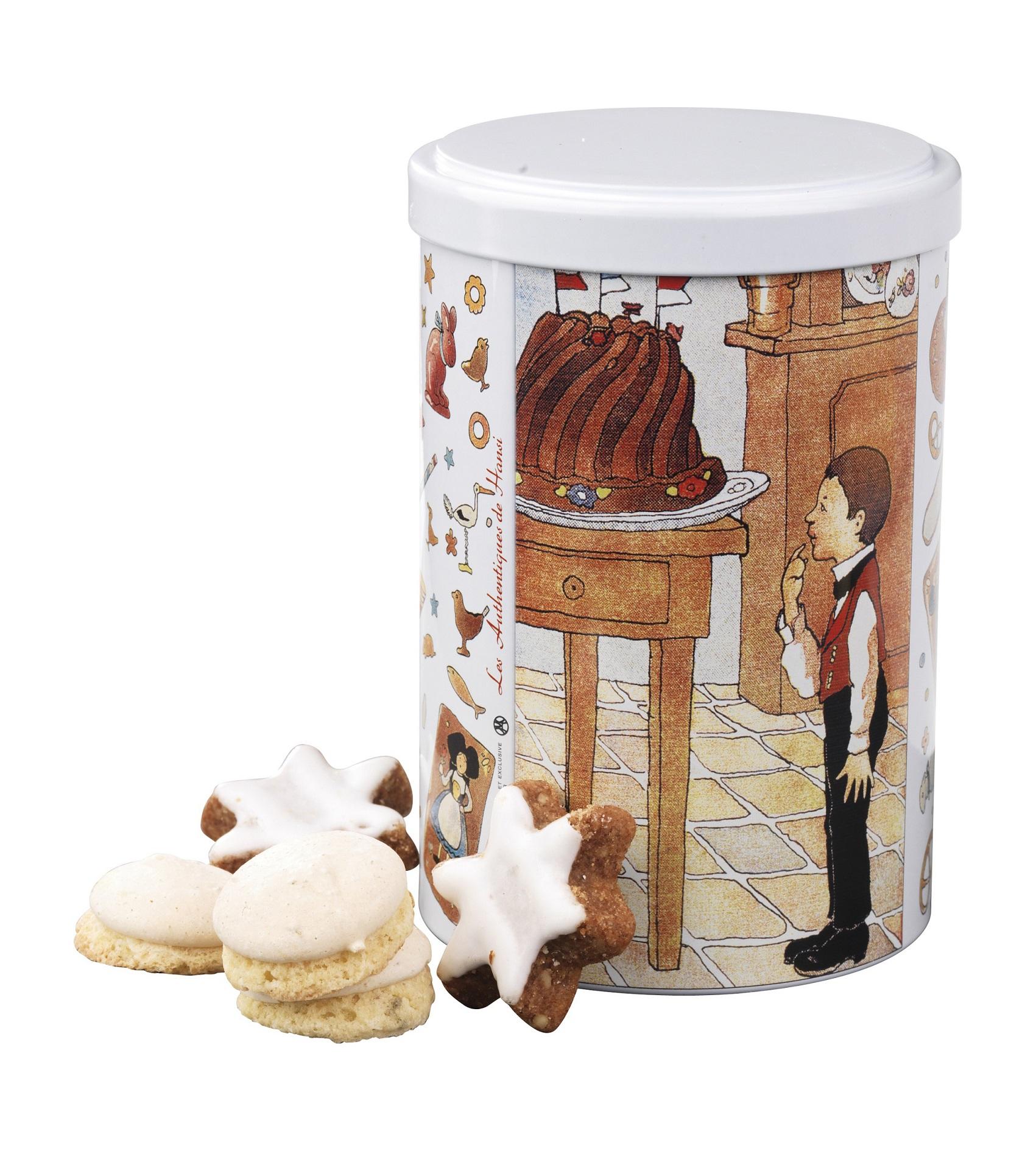 Mix stelute migdale si scortisoara, biscuiti cu anason Fortwenger 150g
