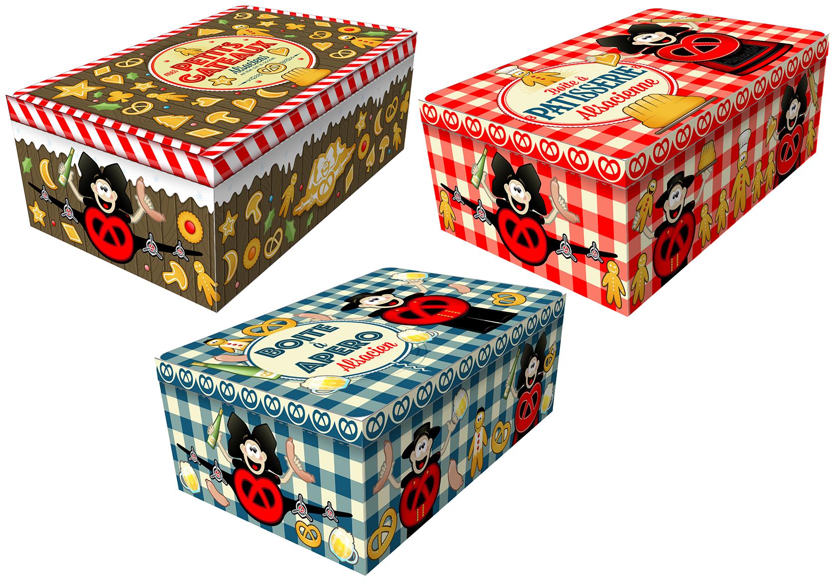 Biscuiti cu unt - mix fursecuri cu unt, ciocolata si migdale in cutie cadou Fortwenger 300g