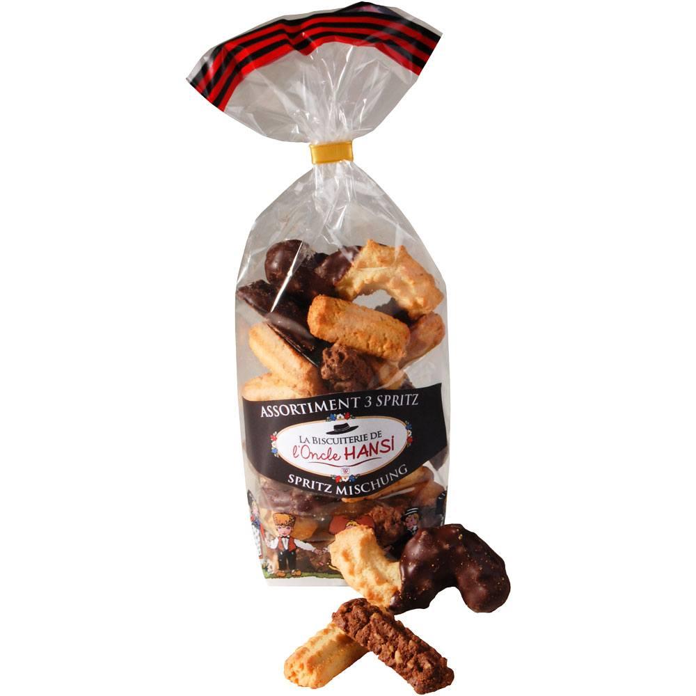 Mix de biscuiti cu ciocolata, migdale si unt Fortwenger 200g