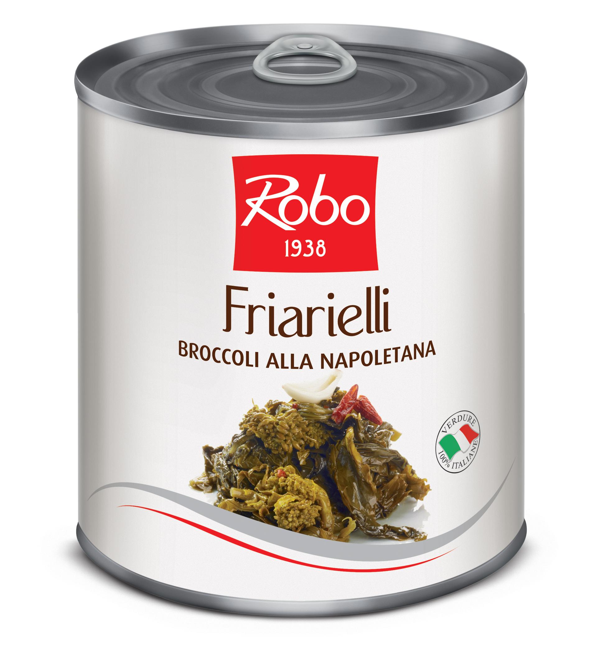 Muguri de broccoli in ulei de floarea soarelui Robo 750g net