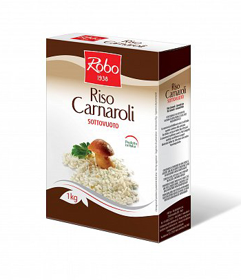 Orez Carnaroli in vid Robo 1000 g (1kg)