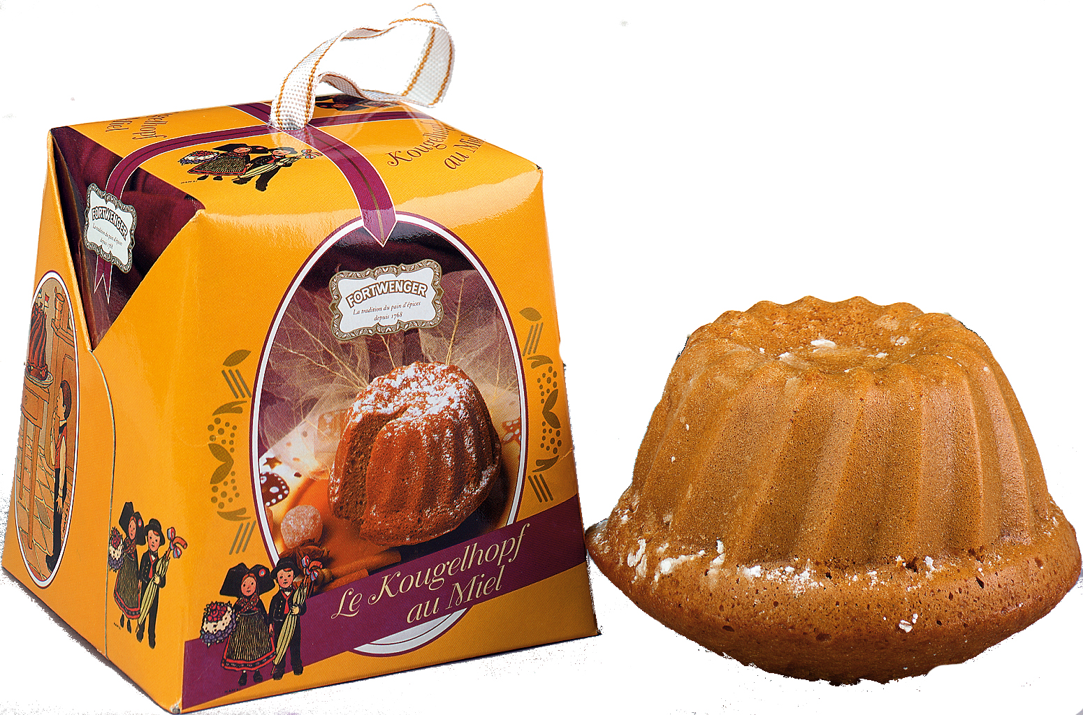 Panettone din turta dulce cu miere Fortwenger 150g