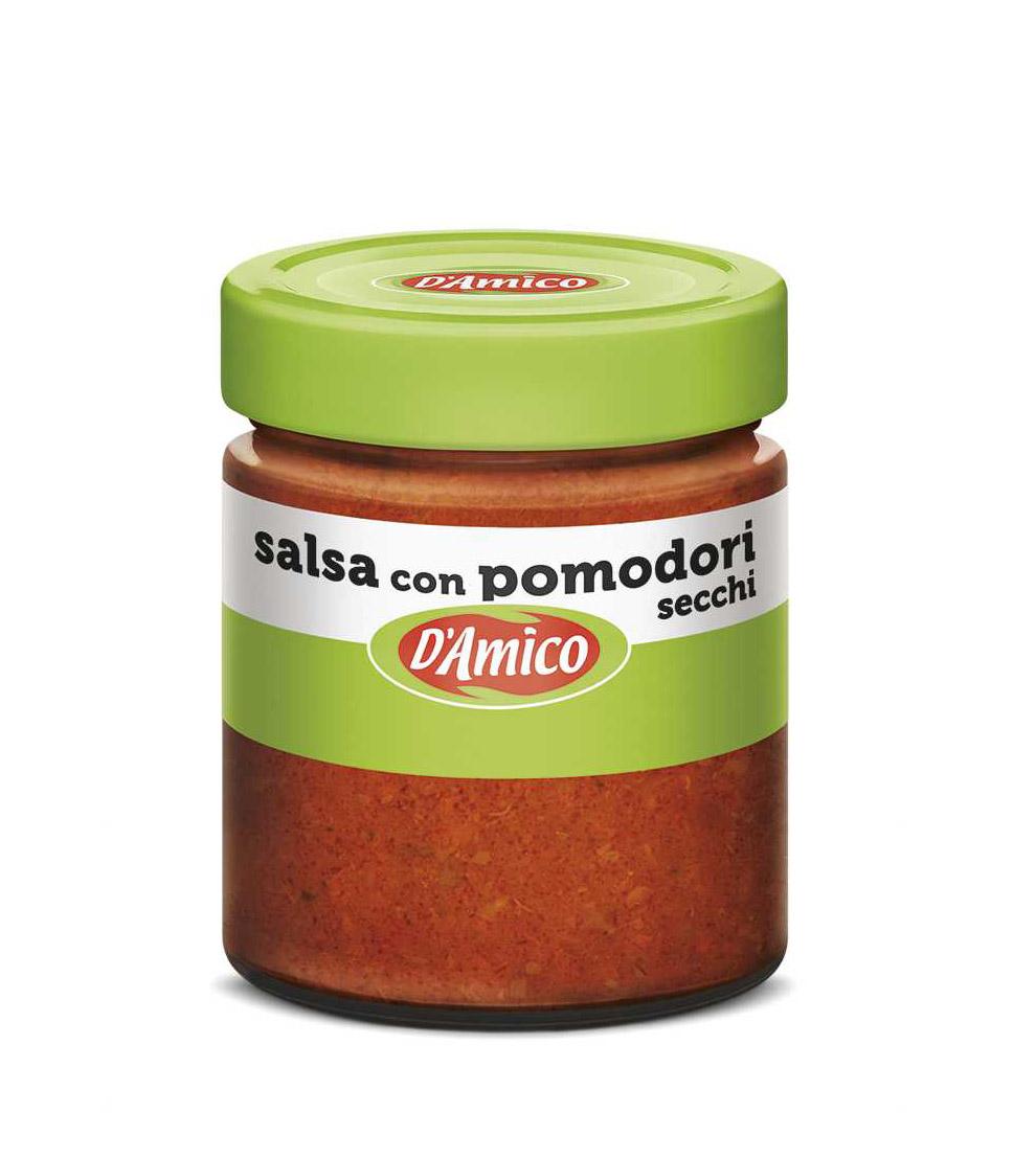 Sos salsa cu rosii uscate D'amico 130g net