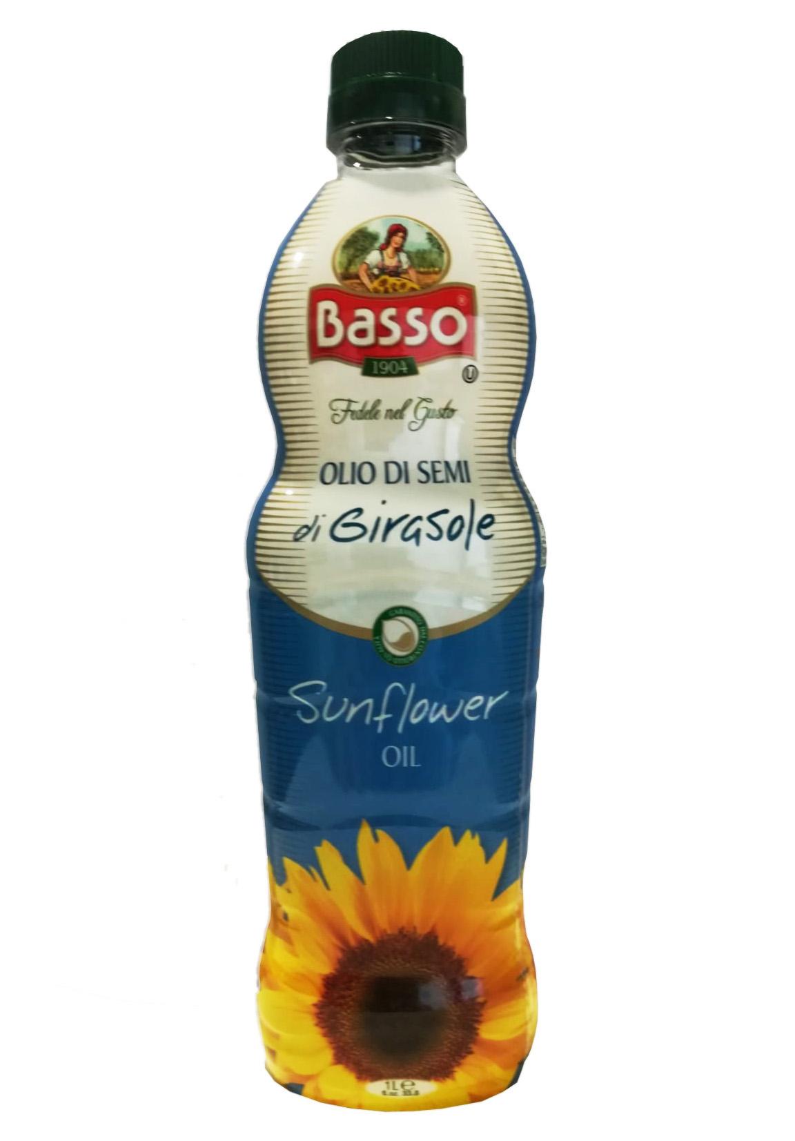 Ulei de Floarea Soarelui Basso pet 1 litru