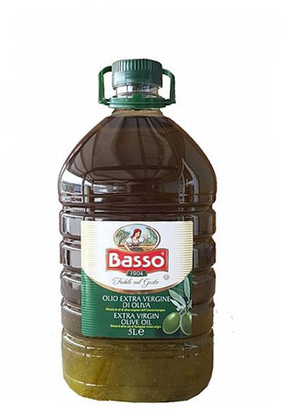 Ulei de masline extravirgin Basso la 5 Litri