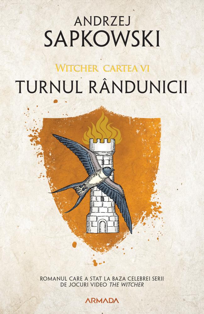 Turnul randunicii ed. 2020  - Andrzej Sapkowski   Editura Nemira