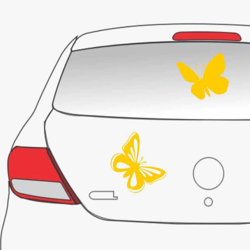 Sticker masina fluturi