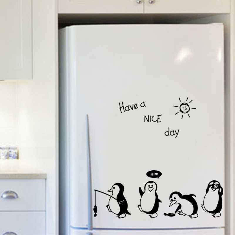 Sticker frigider Pinguini