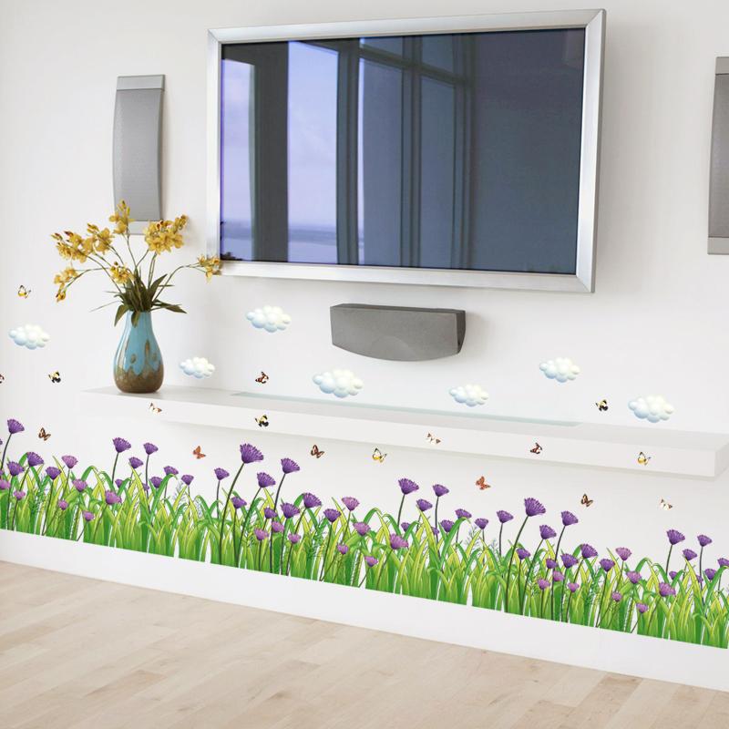 sticker decorativ perete garofite