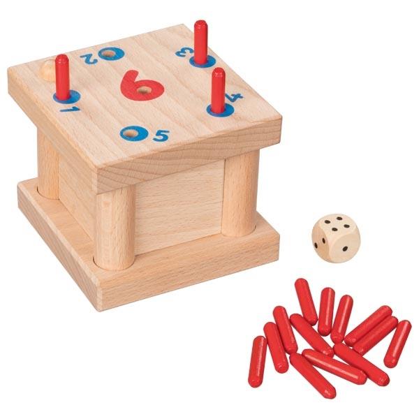Joc cu bețișoare din lemn imagine edituradiana.ro