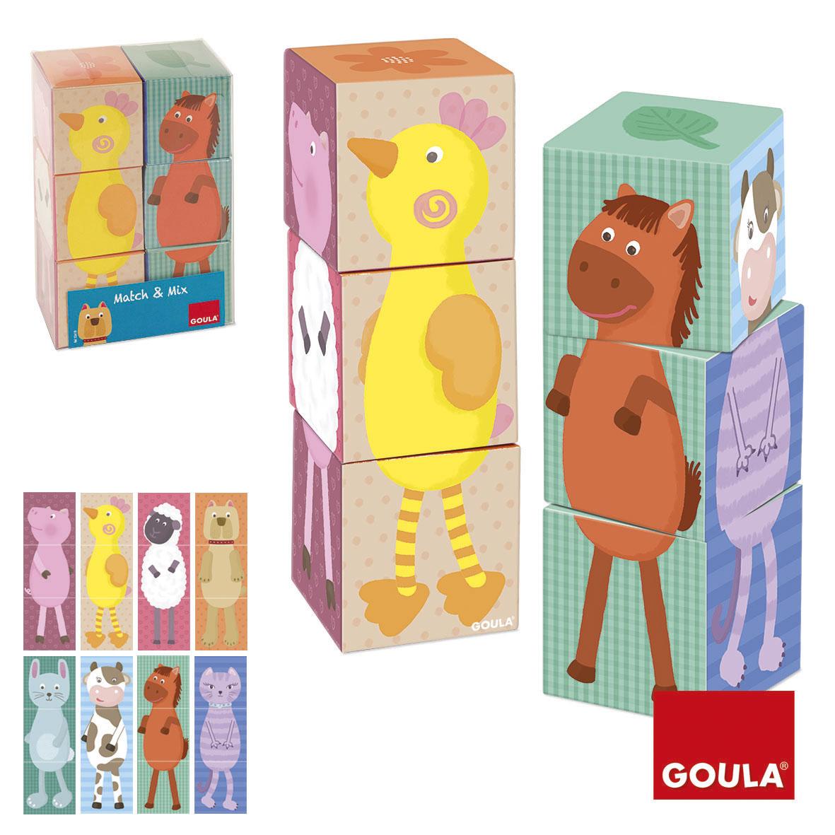 6 cuburi XL - Amestecă și potrivește imagine edituradiana.ro