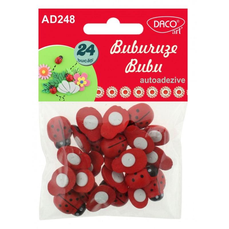 Buburuze Bubu - Accesorii craft - AD248 imagine edituradiana.ro