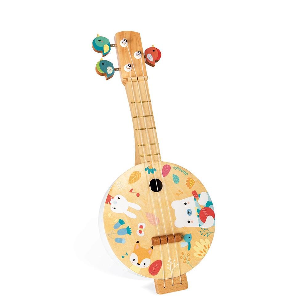 Banjo din lemn imagine edituradiana.ro