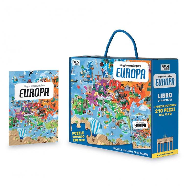 Călătorește, învață și explorează - Europa imagine edituradiana.ro
