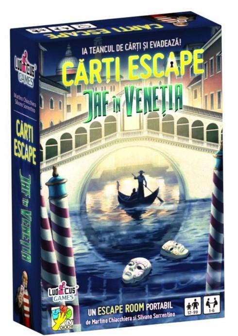 Joc de cărți Escape: Jaf în Veneția imagine edituradiana.ro