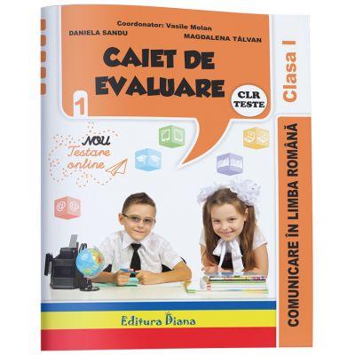 Caiet de evaluare - comunicare in limba romana teste clasa I