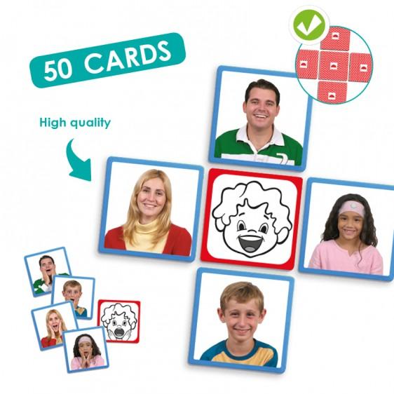 Carduri cu expresiile feței imagine edituradiana.ro