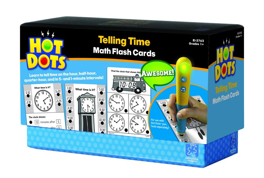 Carduri inteligente Hot Dots - Învață ceasul imagine edituradiana.ro