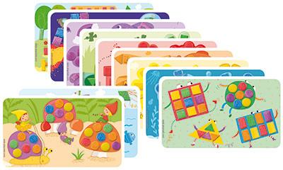 Carduri PlayMais - Culori si forme imagine edituradiana.ro