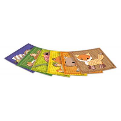 Carduri PlayMais - Mozaic - Animale din pădure imagine edituradiana.ro
