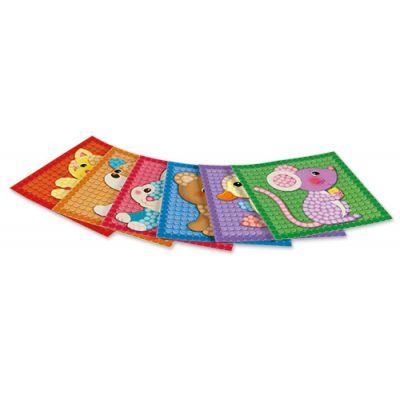 Carduri PlayMais - Mozaic - Micii prieteni imagine edituradiana.ro