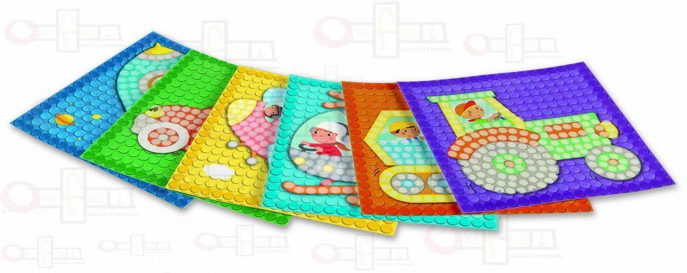 Carduri PlayMais - Mozaic - Trafic imagine edituradiana.ro