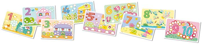 Carduri PlayMais - Numerele imagine edituradiana.ro