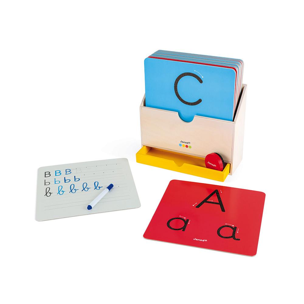 Carduri tactile pentru învățarea scrierii imagine edituradiana.ro