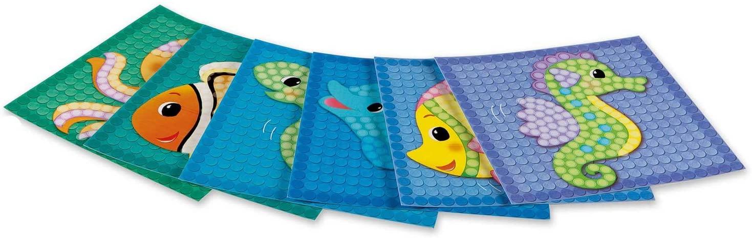 Carduri PlayMais - Mozaic - Animăluțe marine imagine edituradiana.ro