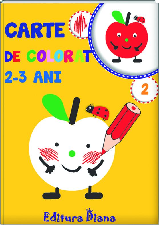 Carte de colorat 2-3 ani (volumul 2) imagine edituradiana.ro