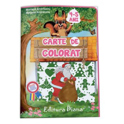 Carte de colorat B5 4-5 ani 2016 imagine edituradiana.ro