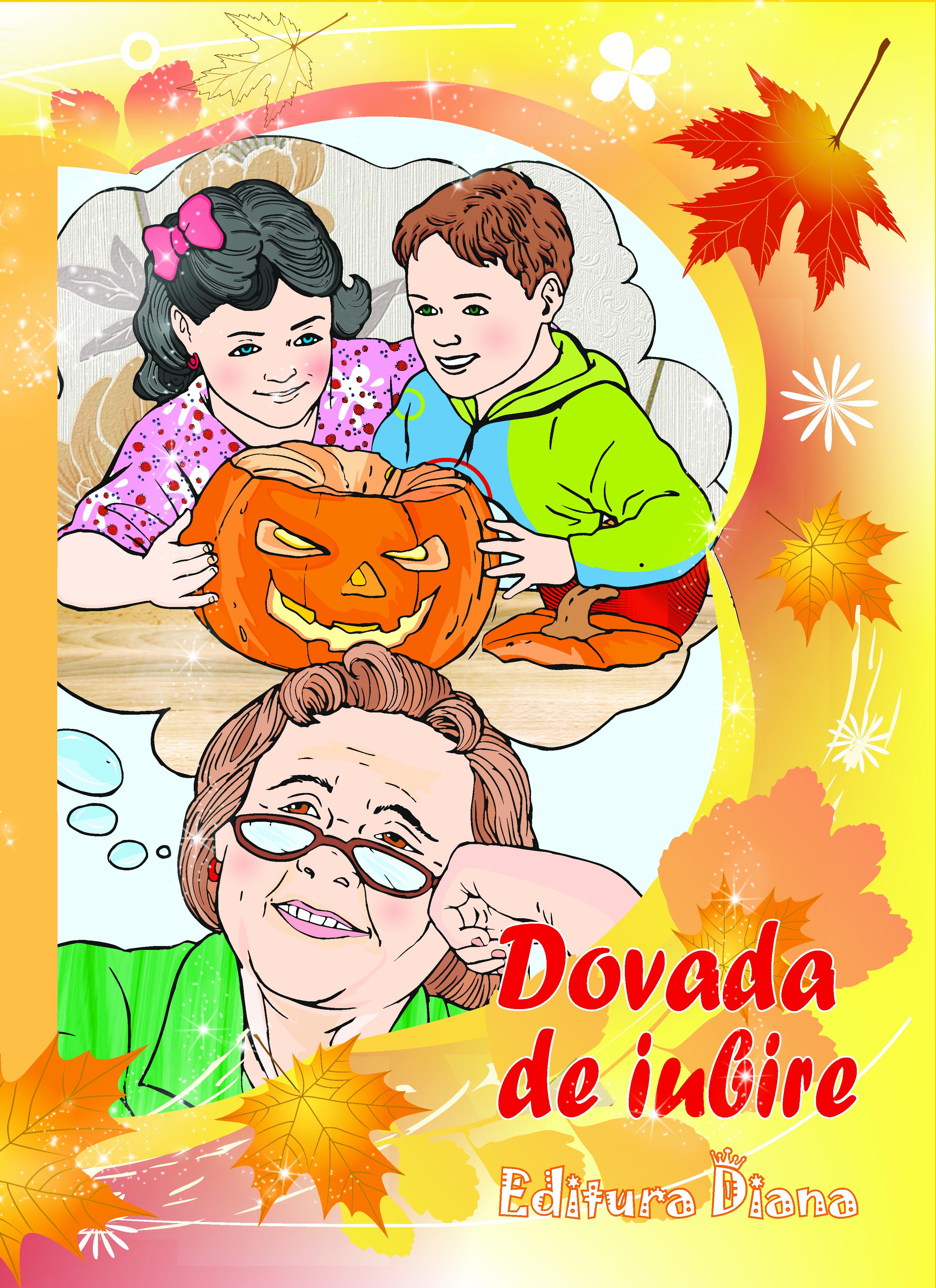Carte personalizată - (Numele copilului dumneavoastră) și dovadă de iubire (Halloween) imagine edituradiana.ro