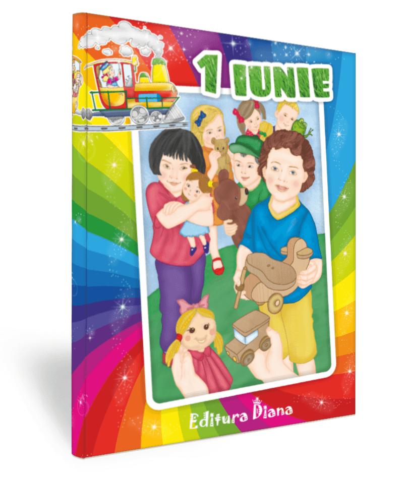 Carte personalizată - (Numele copilului dumneavoastră) și fericirea (Ziua Copilului) imagine edituradiana.ro