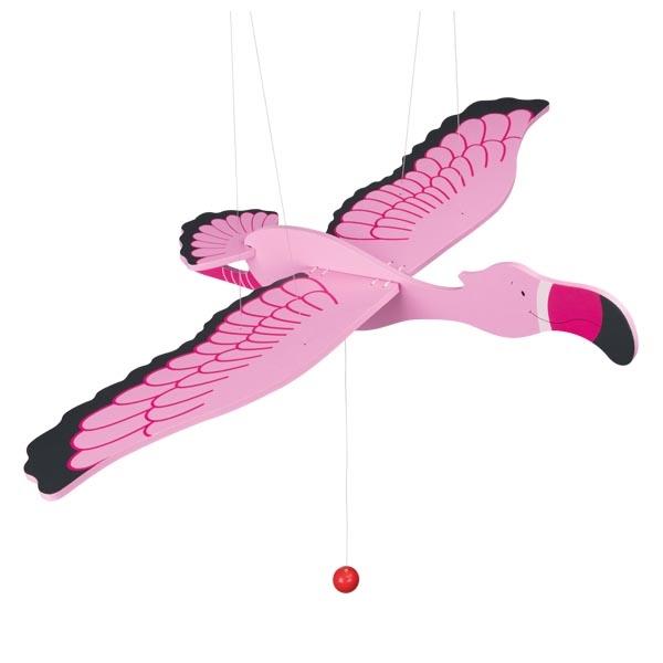 Carusel din lemn - Flamingo imagine edituradiana.ro